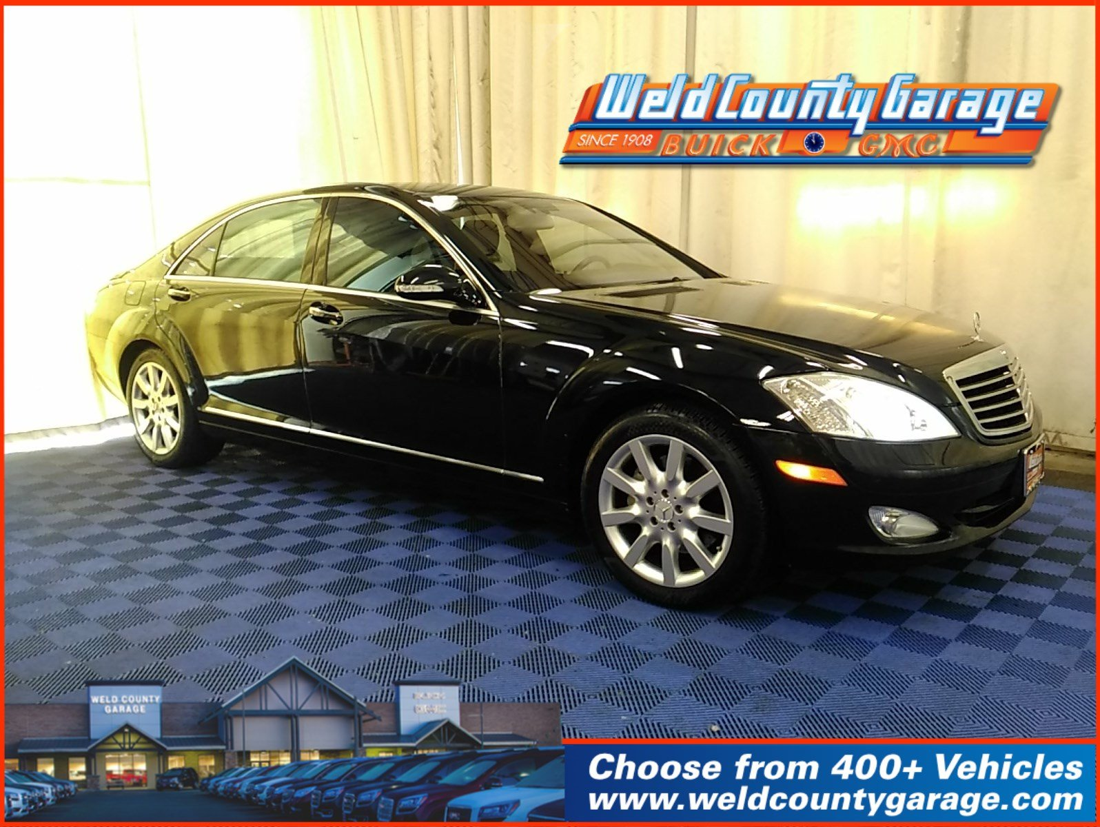 Pre-Owned 2007 Mercedes-Benz S-Class 5.5L V8